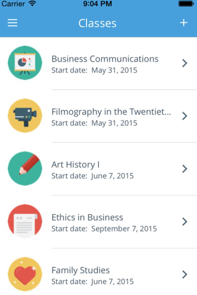 Discussions App