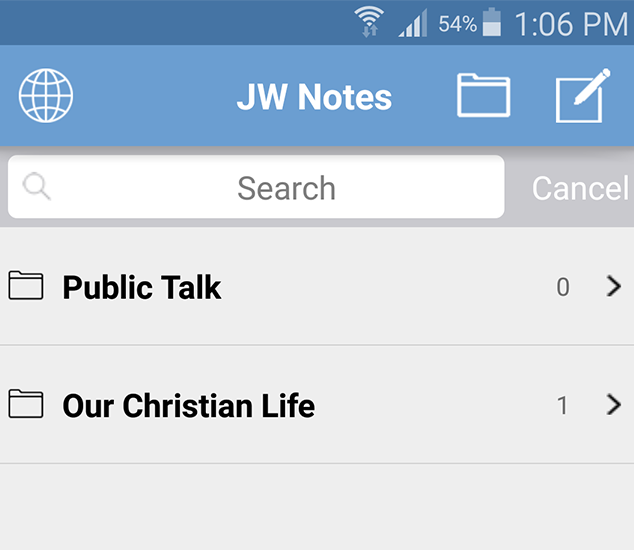 Jw Note