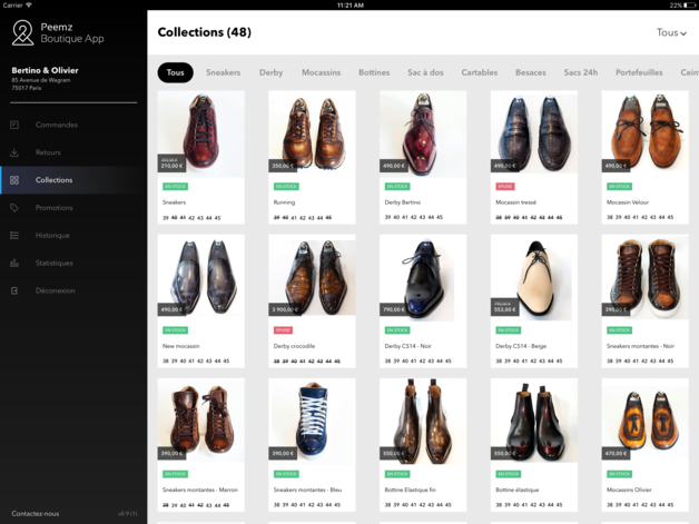 Peemz Boutique App